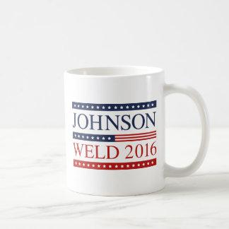 Johnson Weld 2016 Classic White Coffee Mug