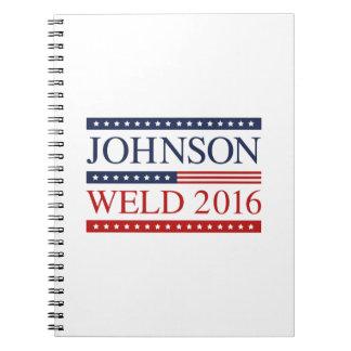 Johnson Weld 2016 Notebook