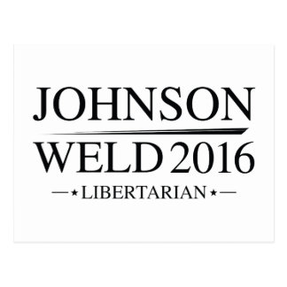 Johnson Weld 2016 Postcard