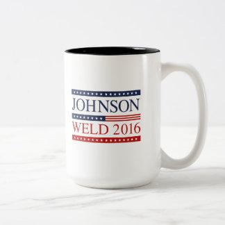 Johnson Weld 2016 Two-Tone Coffee Mug