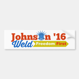 Johnson Weld Bumper Sticker