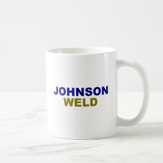 Johnson-Weld dark text Classic White Coffee Mug