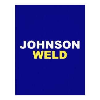 Johnson-Weld Personalized Letterhead
