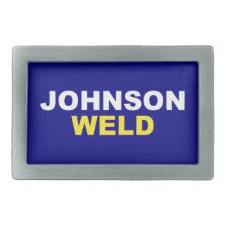 Johnson-Weld Rectangular Belt Buckle