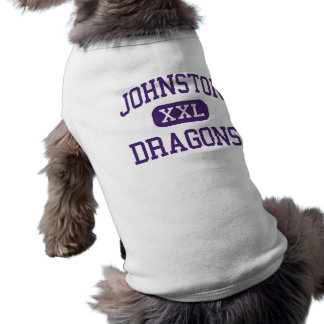 Johnston - Dragons - High School - Johnston Iowa Pet T Shirt