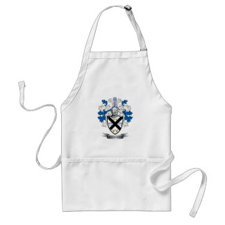 Johnston Family Crest Coat of Arms Standard Apron
