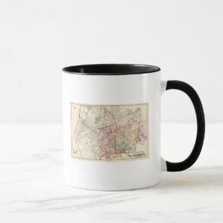 Johnston Rhode Island Map Mug