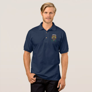 Johnstone Clan Badge Adult Polo Shirt