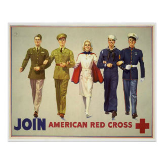 Join - American Red Cross Poster