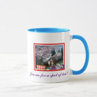 Join me for a spot of tea? mug