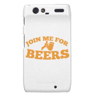 Join me for BEERS! Motorola Droid RAZR Cases
