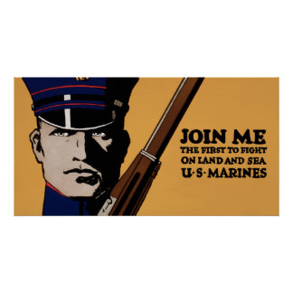 Join Me ~ US Marines Poster