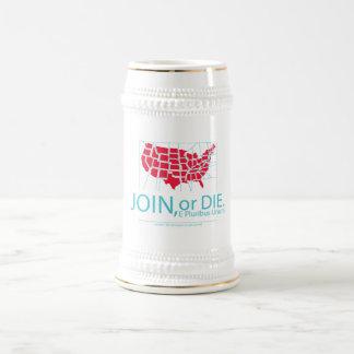Join or Die Beer Stein