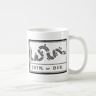 Join Or Die Coffee Mug