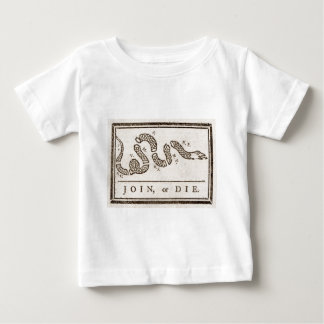 Join, or Die Flag Baby T-Shirt
