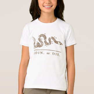 Join or Die Libertarian  T-Shirt