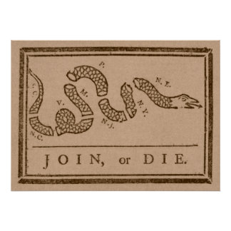 Join or Die Poster