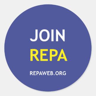JOIN REPA CLASSIC ROUND STICKER
