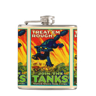 Join Tank Corp Black Cat Flask