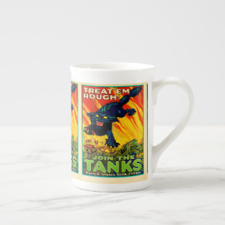 Join Tank Corp Black Cat Tea Cup
