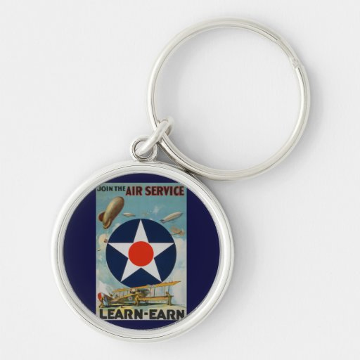 Join The Air Service Keychain