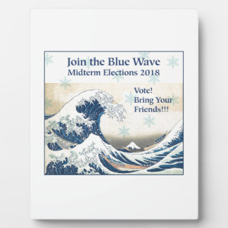 Join the Blue Wave 2018 Plaque