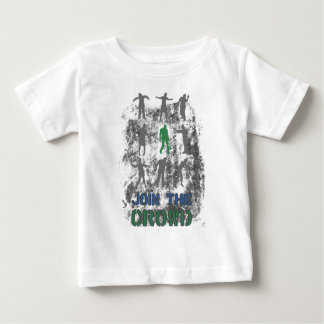 Join The Crowd Zombie Dead Skull Baby T-Shirt