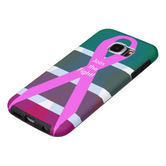 Join the fight! Breast Cancer Samsung Galaxy S6 Cases