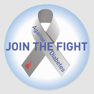 """Join the Fight-No """"like"""" Sticker"""