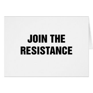 Join the Resistance Card