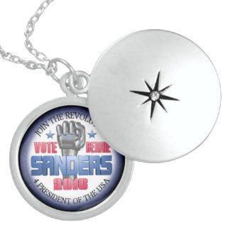 Join the Revolution with Bernie Sanders Locket Necklace