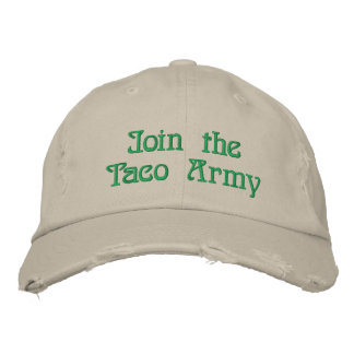 Join the Taco Army Hat Baseball Cap