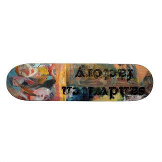 join the team skateboard deck