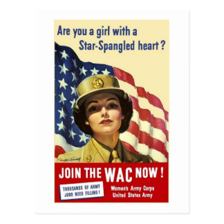 Join The WAC Postcard