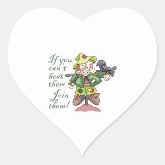 Join Them! Heart Sticker