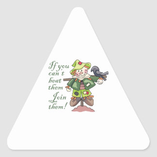 Join Them! Triangle Sticker
