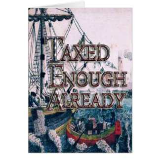 Join theTEA Party Supplies Greeting Card