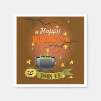 Join Us Halloween Party Paper Napkins