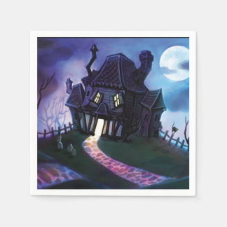 Join Us If You Dare Halloween Party Paper Napkins