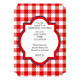 Join Us Memorial Day Party Invitations