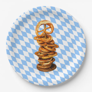 Join Us! Oktoberfest Party Paper Plates 9 Inch Paper Plate