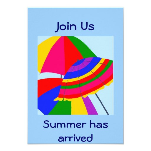 JOIN US-SUMMER HAS ARRIVED INVITE
