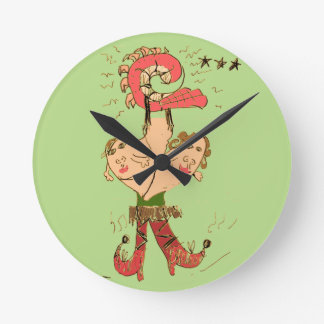 Joined at the Hip with Millipede Round Clock