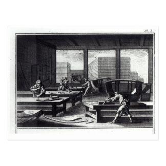 Joiner's workshop postcard