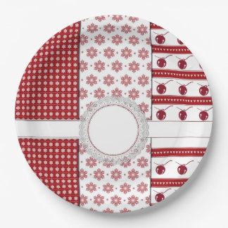 Joining Is A Must Christmas Party Paper Plates
