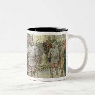 Joining of Great Novgorod Two-Tone Coffee Mug
