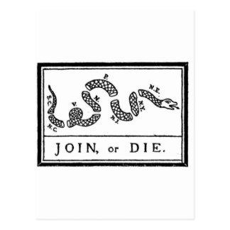 joinordie postcard