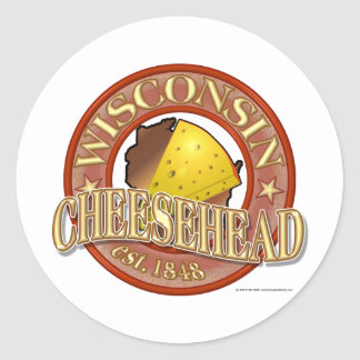 Joint du Wisconsin Cheesehead Adhésif Rond