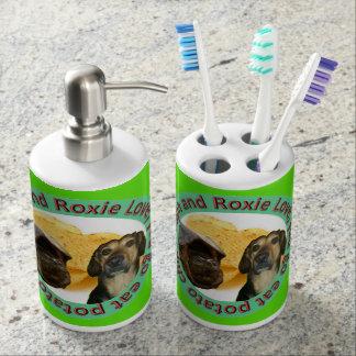 Jojo Cartoons ToothBrush Holder and Soap Dispencer