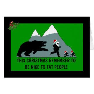 Joke Christmas Card
